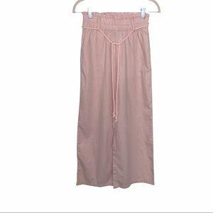 NWT H&M Wide Leg Pants Elastic Waistband Size 2